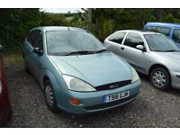 Ford Focus Lx 1.6 petrol Breaking for parts