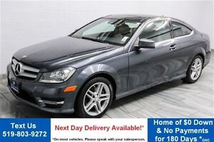 2013 Mercedes-Benz C-Class C250 COUPE! LEATHER! NAVIGATION! PANO