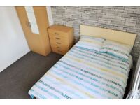 DOUBLE ROOM AVAILABLE NOW IN SHADWELL/STEPNEY - ALL INCLUSIVE E1