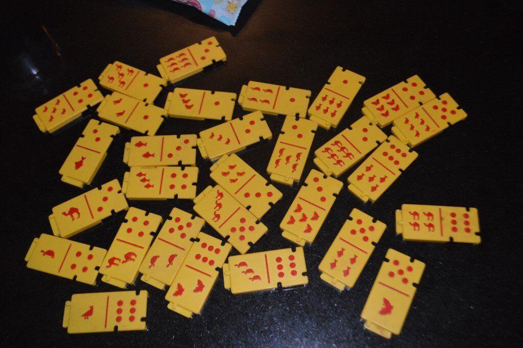 Kids domino Game 0491M5