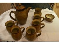 Kersey Pottery Coffee Set