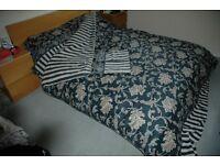 CROSCILL Duvet / topsheet / fitted sheet / pillowcases for UK double bed