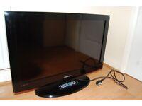 "SAMSUNG 32"" HD TV SRS TRUSURROUND Dolby Digital - BLACK TV"