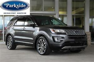 2016 Ford Explorer Platinum Top of the line 3.5 Ecoboost Local O