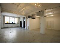 Shoreditch warehouse conversion adjacent to Hoxton Square // 850 sq ft // £37,500 pa