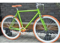 Brand new TEMAN single speed fixed gear fixie bike/ road bike/ bicycles + 1year warranty 11s