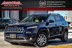 2016 Jeep Cherokee Limited Nav|Leather|R.Start|Backup Cam|HTD Fr