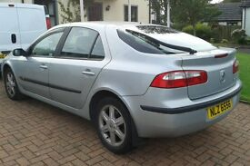 2001 Renault Laguna 1.9 DCI. MOT to Feb 2017