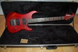 Washburn N2 ('92 or '93) electric guitar with hard case