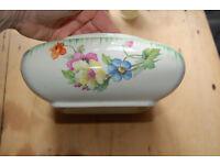 Vintage flowered bowl