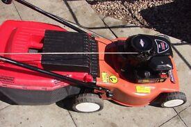 mountfield hp454 rotary mower with grassbox