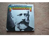 The world's best composer TCHAIKOVSKY boxed LP set