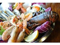 Chefs required for fresh seafood and grill restaurant