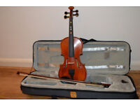 giovanni hidersine 2/4 violin in very good condition