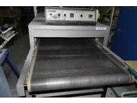 Natgraph Electric Infra Red Screen Print T-Shirt Garment Tunnel Dryer Model 3P