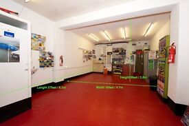 Large Garage/ Workshop/ Storage area - FOR RENT
