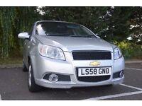 Chevrolet Aveo 1.4 LT 5dr 2009 (58 reg) 12 Months MOT