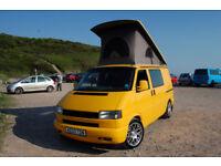 VW T4 Transporter Camper Van ex AA pop top 2003