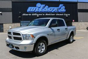 2015 Ram 1500 $104/WK, 5.49% ZERO DOWN! OUTDOORSMAN 4X4! 5.7L HE