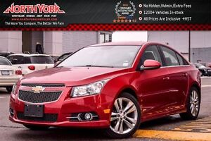 2013 Chevrolet Cruze LT Turbo|LeatherSts|HtdFSeats|Sat.Radio|Blu