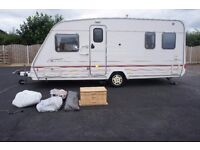 2000 STERLING ECCLES ONYX 4-BERTH FIXED BED MOTOR MOVER FULL AWNING EXCELLENT CONDITION