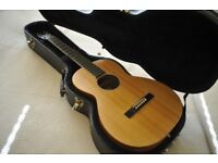 Larrivee Parlor Special Edition Koa Satin Acoustic Guitar LEFT HANDED.