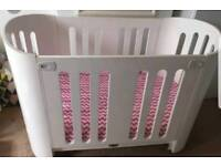 Bloom Luxo baby cot bed cotbed 0-5yrs
