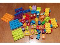 Mega Bloks, 50piece Train set