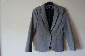 H&M blazer, grey, Size: Small, PERFECT CONDITION