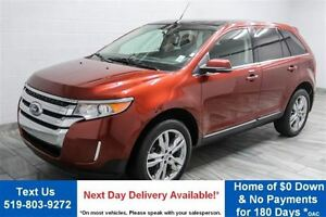 2014 Ford Edge LIMITED AWD! NAVIGATION! PANO ROOF! 20S! NEW TIRE