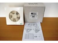 Air Vent Low Profile 150mm Timer fan. 5014