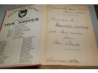 ANTIQUE BOOK THE ADVENTURES OF TOM SAWYER
