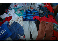 Boys bundle- 12-18 months- some of the items never used