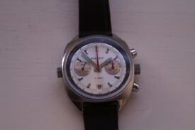 Poljot manual wind mechanical chronograph wristwatch -Russia - Cal 3133/Valjoux 7734 - Vintage