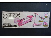 ZINC INLINE SCOOTERS... 3 IN TOTAL, PERFECT FOR THE HOLIDAYS! RRP26 Each