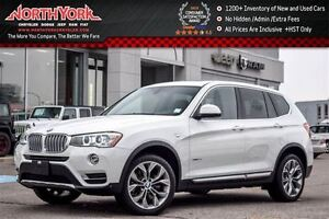 2016 BMW X3 xDrive35i Pano_Sunroof Nav Backup Cam Htd Frnt Sea
