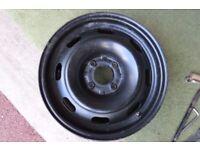 6J15H2M ET27 4x108 steel wheel