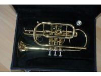 JUPITER Brass Cornet ready to play