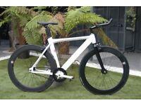 Brand new NOLOGO X single speed fixed gear fixie bike/ road bike/ bicycles + 1year warranty tt4