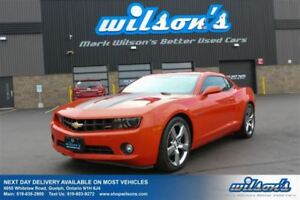 2012 Chevrolet Camaro LT! RS PKG! 20S! 6-SPEED! SPORT SUSPENSION