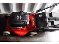 mtd rover em 46 18inch self propelled petrol rotary mower cast alloycutting deck
