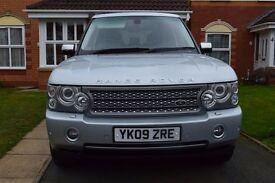 2009 09 Land Rover Range Rover 3.6 TD V8 VOGUE Turbo Diesel SATNAV/ TV/ CAMERA/ HEATED SEATS