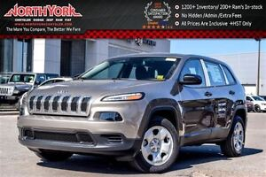 2016 Jeep Cherokee Sport NEW Cold Weather Group Backup Cam Bluet