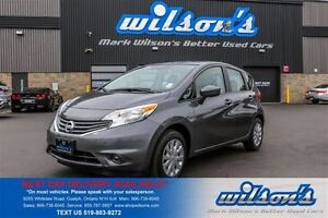 2016 Nissan Versa Note SV HATCHBACK! REAR CAMERA! BLUETOOTH! KEY