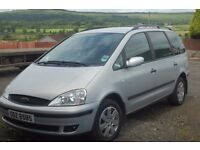Ford Galaxy 7 seater - 1 year MOT - just serviced