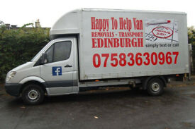 Why choose Happy To Help Van? ( MAN AND VAN - REMOVALS - HOUSE MOVES - COURIER - VAN & DRIVER HIRE )