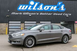 2013 Ford Fusion SE LEATHER! NEW TIRES! NAVIGATION! REAR CAMERA!