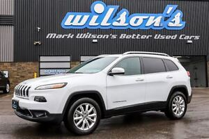 2016 Jeep Cherokee LIMITED $104/WK, 5.49% ZERO DOWN! 4X4! LEATHE