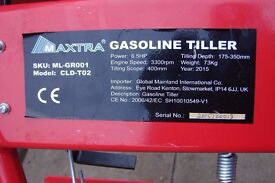 maxtra rotovator new and unused 3 spd rear tiller