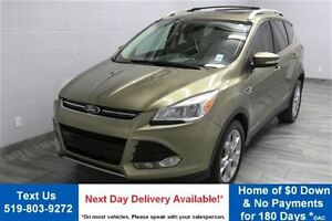 2014 Ford Escape TITANIUM 2.0L ECOBOOST! NAVIGATION! PARTIAL LEA